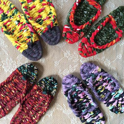 布ぞうり/cloth sandals