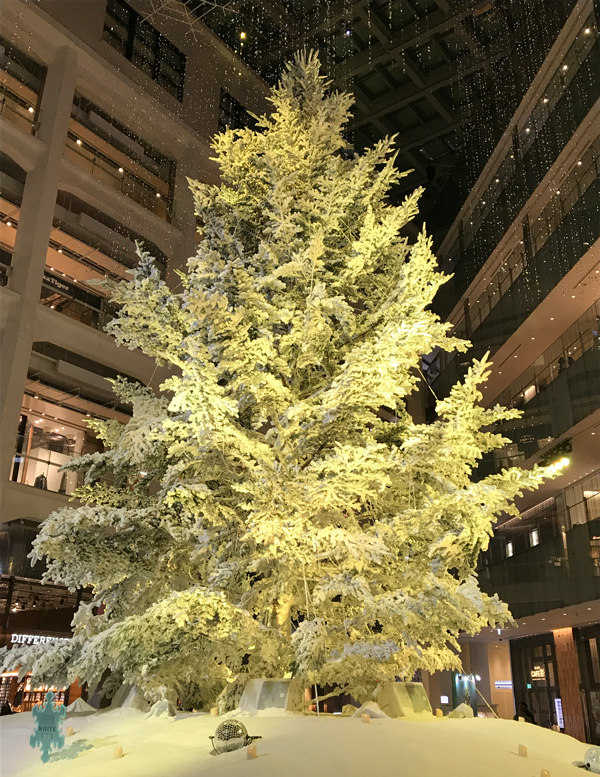 KITTEのクリスマスツリー 2017