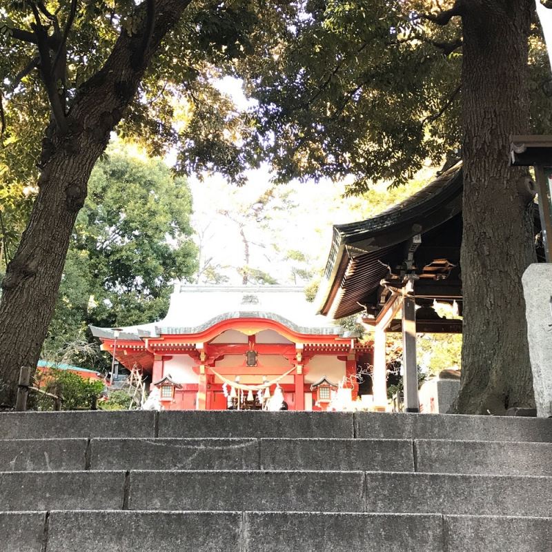 自由が丘の熊野神社