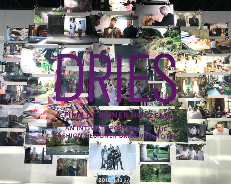 DRIES  映画「ドリス・ヴァン・ノッテン ファブリックと花を愛する男」