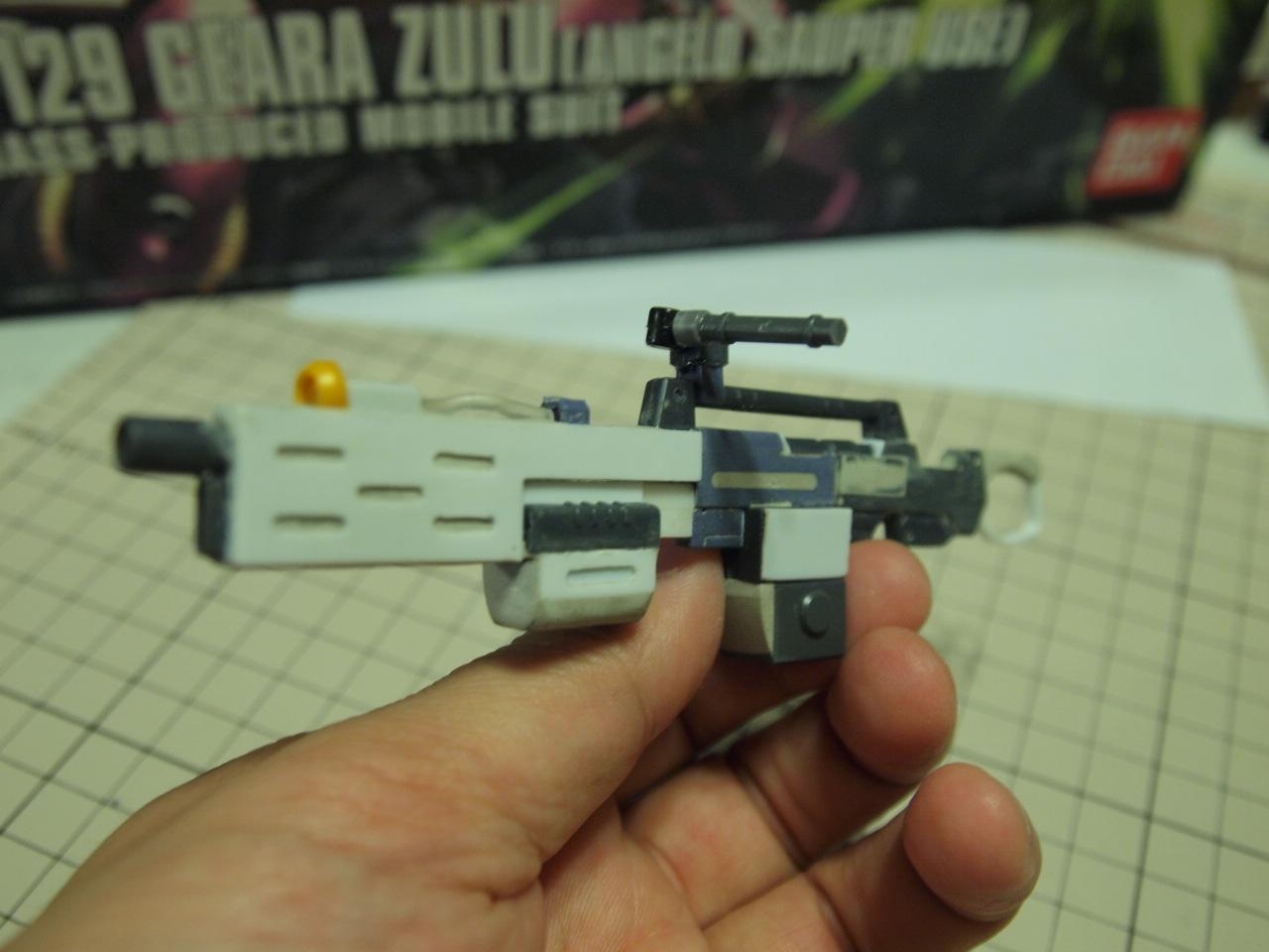 ギラ・ズール(アンジェロ機)ビームショットライフル