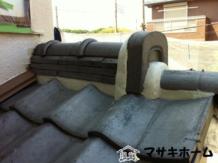 屋根補修after