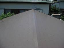 屋根補修塗装after