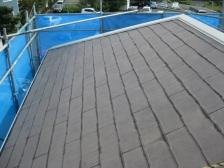 屋根葺き替えカバー工法before