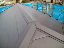 屋根葺き替えカバー工法after