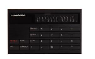 カード型計算機(LC-404)ブラック