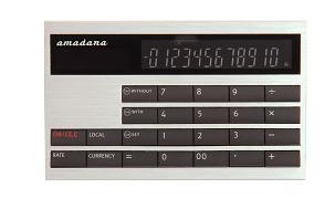 カード型計算機(LC-404)シルバー