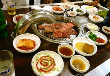 韓国 ソウル 焼肉 牛カルビ 豚カルビ デジカルビ