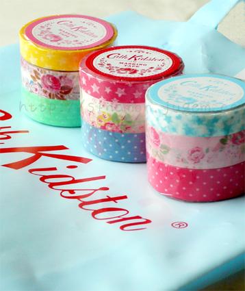 Cath Kidston  キャスキッドソン 布 花柄 星 かわいい カワイイ 可愛い マスキングテープ