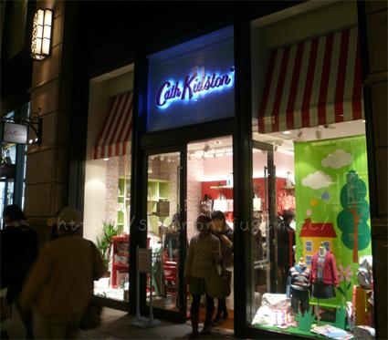Cath Kidston  キャスキッドソン マスキングテープ 丸の内ブリックスクエア インテリア ファッション イギリス 英国