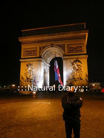 凱旋門 フランス