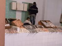 モロッコの魚マーケット