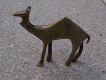 真鍮のラクダ