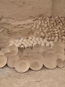 モロッコの陶器