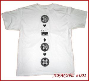 ★オリジナルプリントTeeシャツ★ APACHE #001