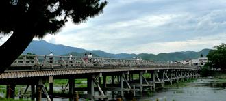 【京都・嵐山】渡月橋