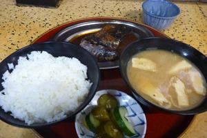 【今井食堂】サバ煮定食(80)