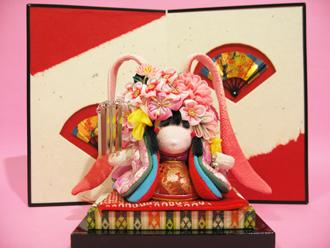 辻村ジュサブロー作『花うさぎ』と天保屏風