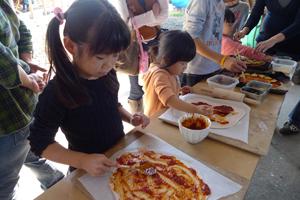 【ソラノネ】秋野菜を使ったピザ作り体験!