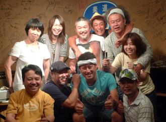 今西太一さんと木村ゆかさんとみんなで記念撮影!