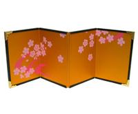 4曲屏風#1−桜水