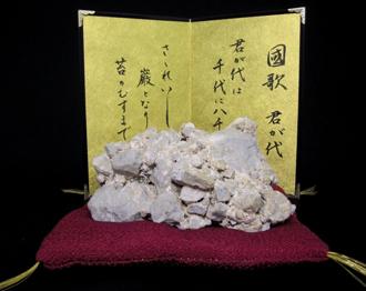 天然記念物/さざれ石(細石)