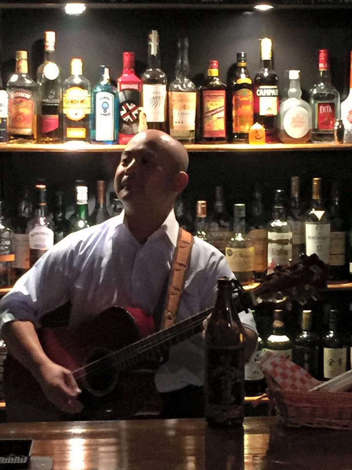 Bar 酩酊 マスター小澤さん