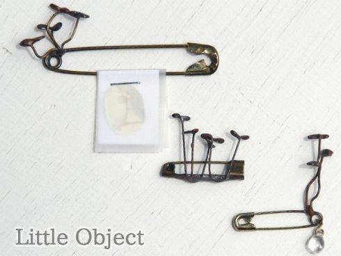 Little Object  ブローチ