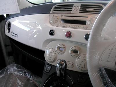 FIAT 500内装