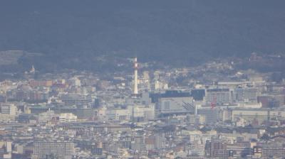 善峯寺からの京都タワー