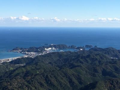 那智山から望む勝浦