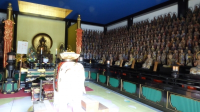 中山寺 五百羅漢