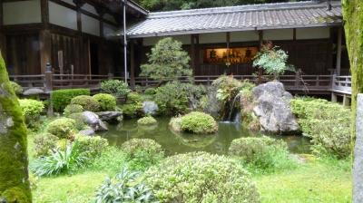 岩間寺 芭蕉の池