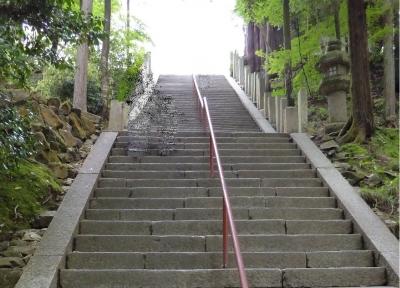 石山寺 階段