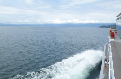 宝厳寺 琵琶湖船
