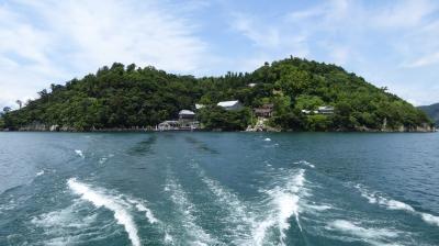 竹生島 船(帰り)