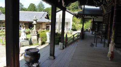 三室戸寺 本堂と納経所