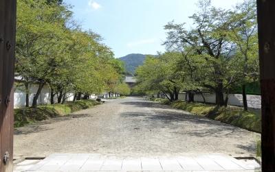 醍醐寺 総門から