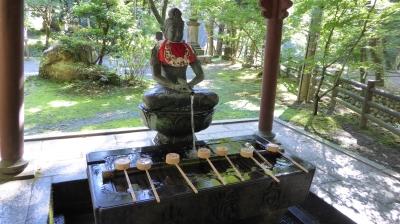 華厳寺 手水屋