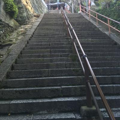 紀三井寺 階段
