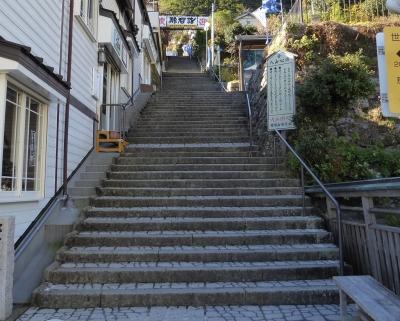 青岸渡寺 階段
