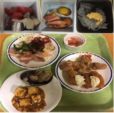 浦島 夕食