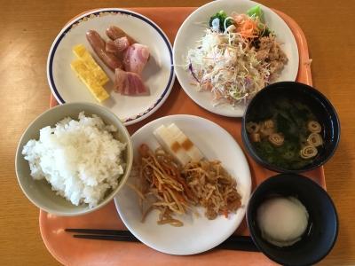 浦島 朝食