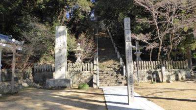 一乗寺 階段前