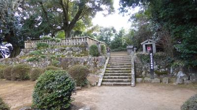 菩提寺 花山法皇御廟所入口