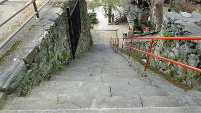 1065開山堂横階段