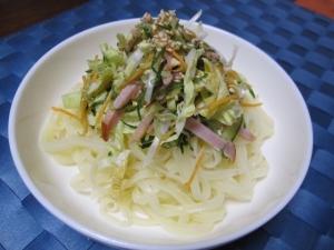 ひろしま夢ぷらざ レモンちゃん麺 野菜たっぷり