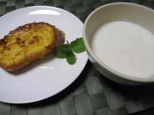 生姜シロップミルク