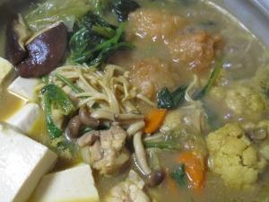 カレー鍋の素 唐揚げ