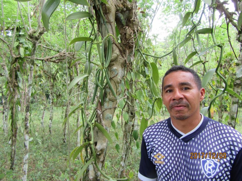 アマゾン農園と現地の方